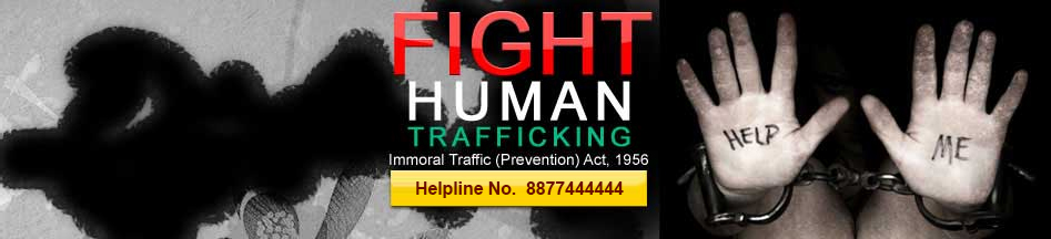 Human Trafficking is a Crime. Report it for the sake of Humanity!
