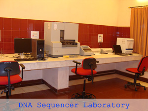 DNA Sequencer Laboratory