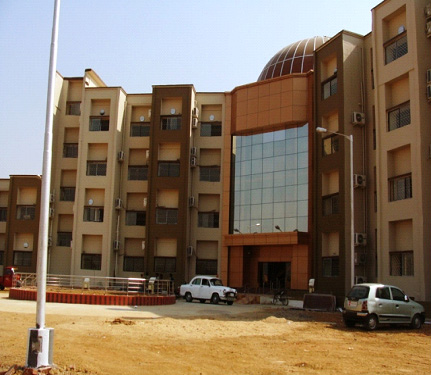 Newly constructed State Forensic Science Laboratory at Hotwar